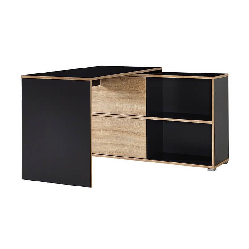 Bureau Dangle Gris Leader Bureaux Design Noir Et Blanc