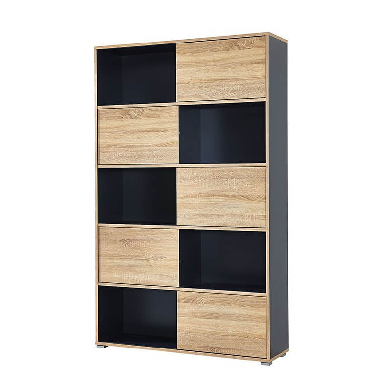 armoire de bureau grise leader