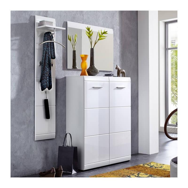 meuble chaussure blanc brillant alama meubles duentre blanc alama with meuble entre chaussure