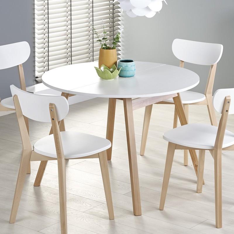 chaise scandinave avec pieds en bois massif storend