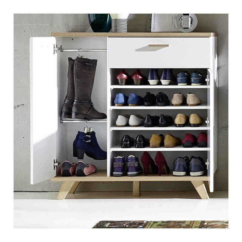 Meuble A Chaussures Scandinave Malmo