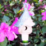 "Bird House Wine Stopper – A real ""show stopper"""