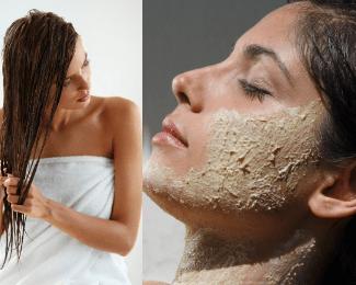 Haircare Masks Scrubs and beyond