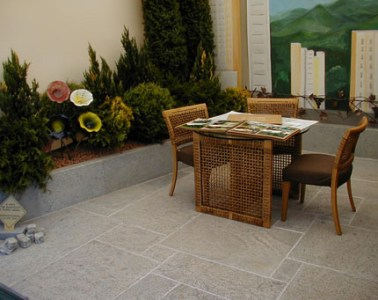 Soapstone Tile Flooring Outdoor Patios