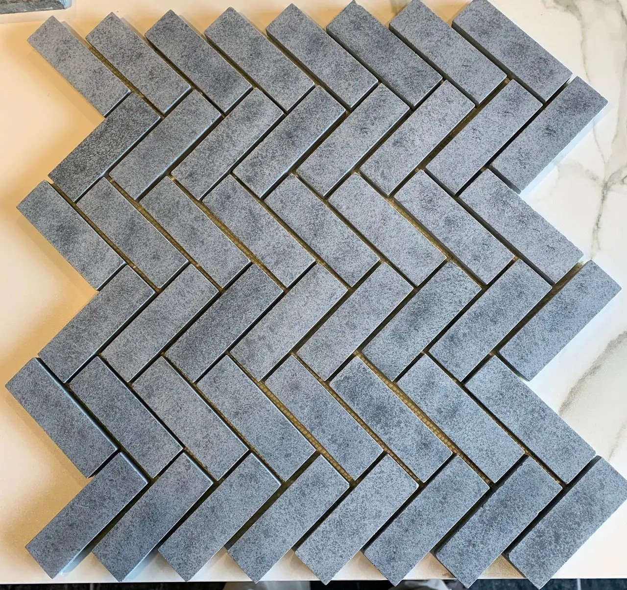 herringbone mosaic 30 sheets