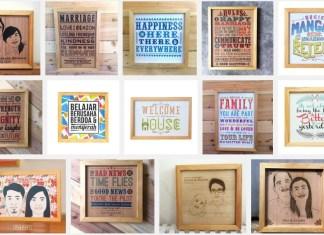 Mau Menghasilkan Dari Kamar Kosanmu, Coba Bikin Usaha Wall Decoration