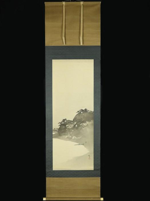 木島櫻谷 伯月夜山水/OKOKU KONOSHIMA
