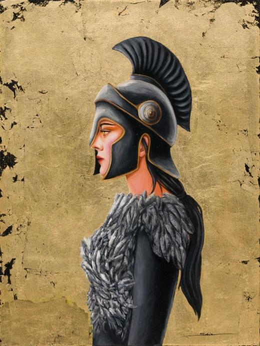 Sobia Shuaib - Warrior Princess of the Raven Clan 18x24