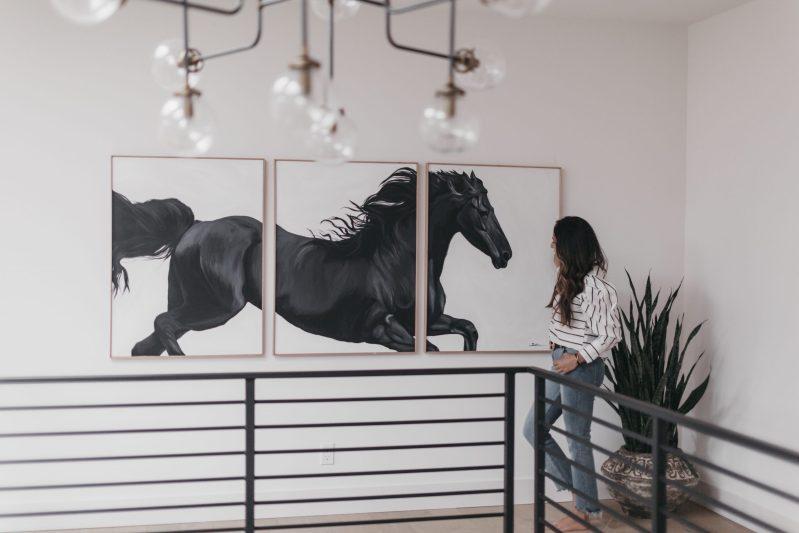 Sobia Shuaib - Black Stallion 4 40x90