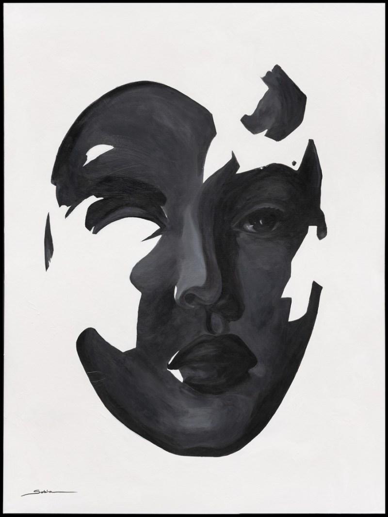 Sobia Shuaib - Pieces of me 36x48