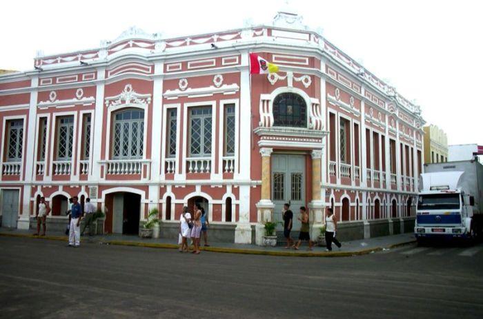 Foto do Palácio de Ciências e Línguas Estrangeiras