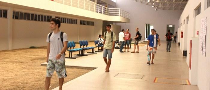 Interior do Bloco I – Campus Sobral – Mucambinho
