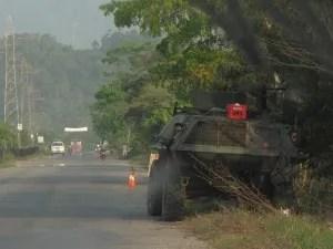 El Catatumbo es una región muy militarizada. Foto: O.B.