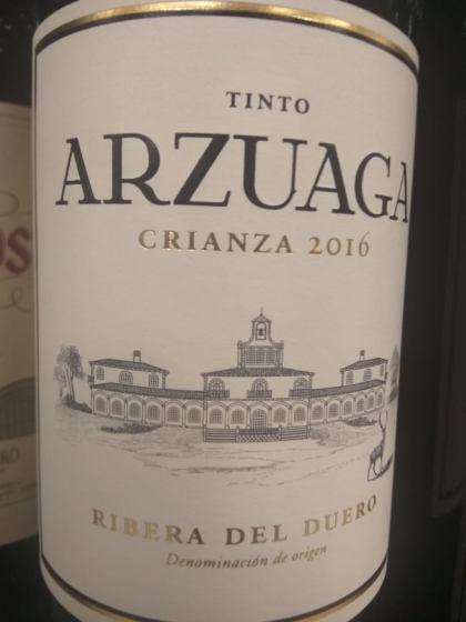 Arzuaga Crianza 2016