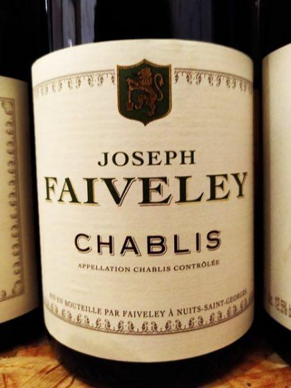 Joseph Faiveley Chablis 2017