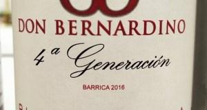 Don Bernardino 4ª Generación Barrica 2016