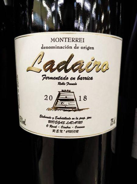 Ladairo Blanco Barrica 2018