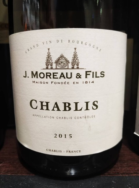 J. Moreau & Fils Chablis 2015