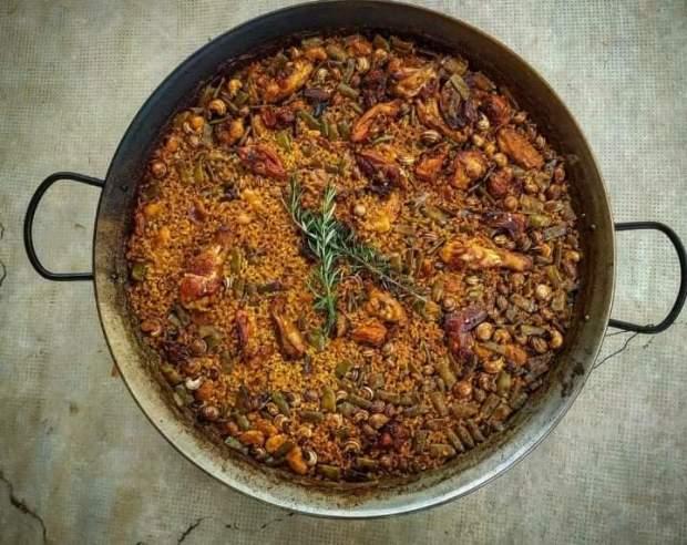 maridamos paella tradicional valenciana