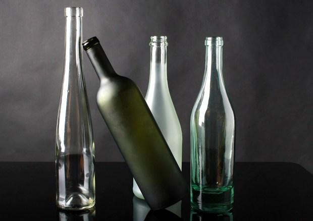 escasez de vidrio
