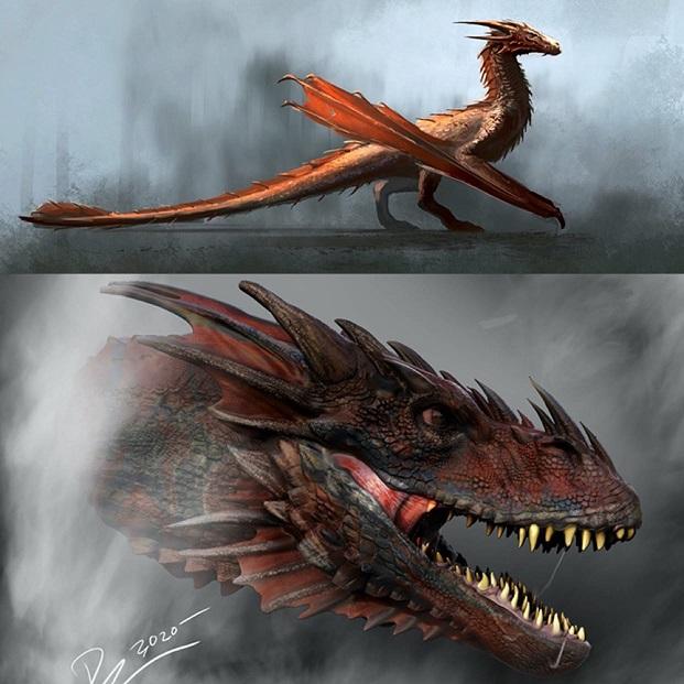 Arte Conceitual - House of the Dragon