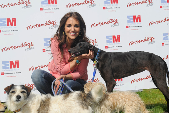 Paula Echevarría y mascotas