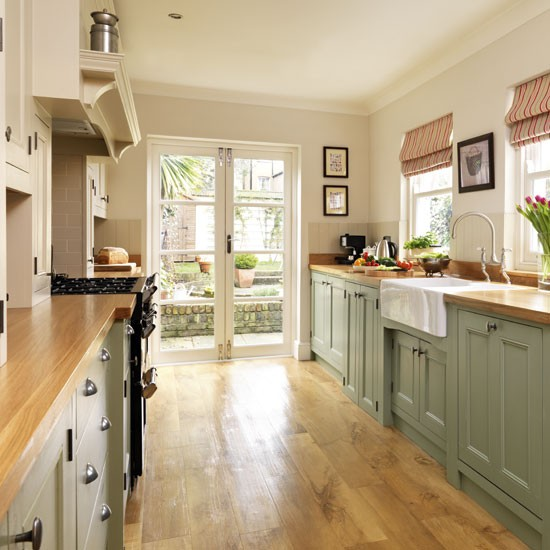 Green Painted Kitchen Cabinets: Home Inspiration: Painted Kitchen Cabinets