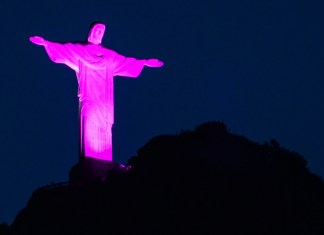 outubro rosa cancer de mama Cristo
