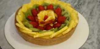 Pie de frutas
