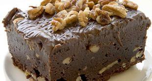La receta de la tarta de brownie