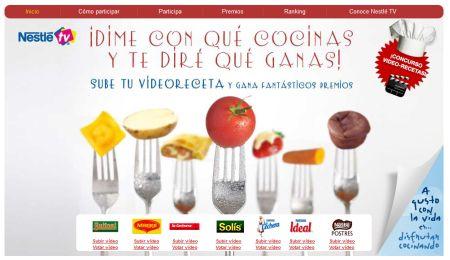 Concurso videorecetas de Nestle