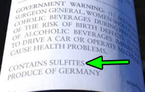 Allergic Reactions To Wine Sulfites & Wine Allergy Cures