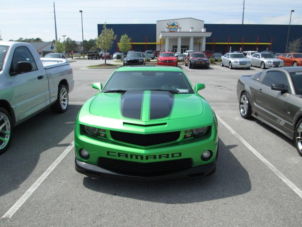 2011 Green Chevy Camaro SS
