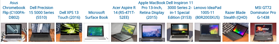 Best Laptops of 2016