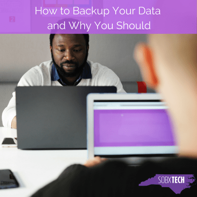How to Backup Your Data and Why You Should