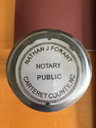 Notary Public North Carolina