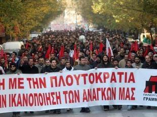 manifestation grece