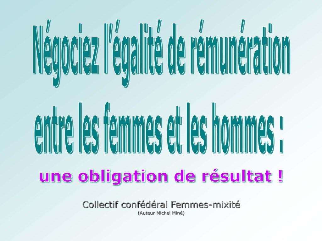 Négociez l'égalité de rémunération entre les femmes et les hommes : une obligation de résultat