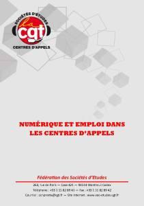 Numérique et emploi dans les centres d'appels