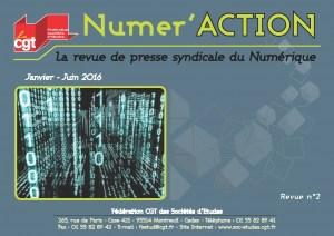 Numer'Action n°2 : Janvier – Juin 2016