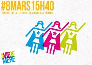 PHONE REGIE : Femmes, salariées, travailleuses, toutes en grève pour vos droits