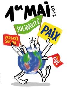 Pour un tour social, antifasciste et antilibéral, mobilisons-nous massivement le 1er Mai !