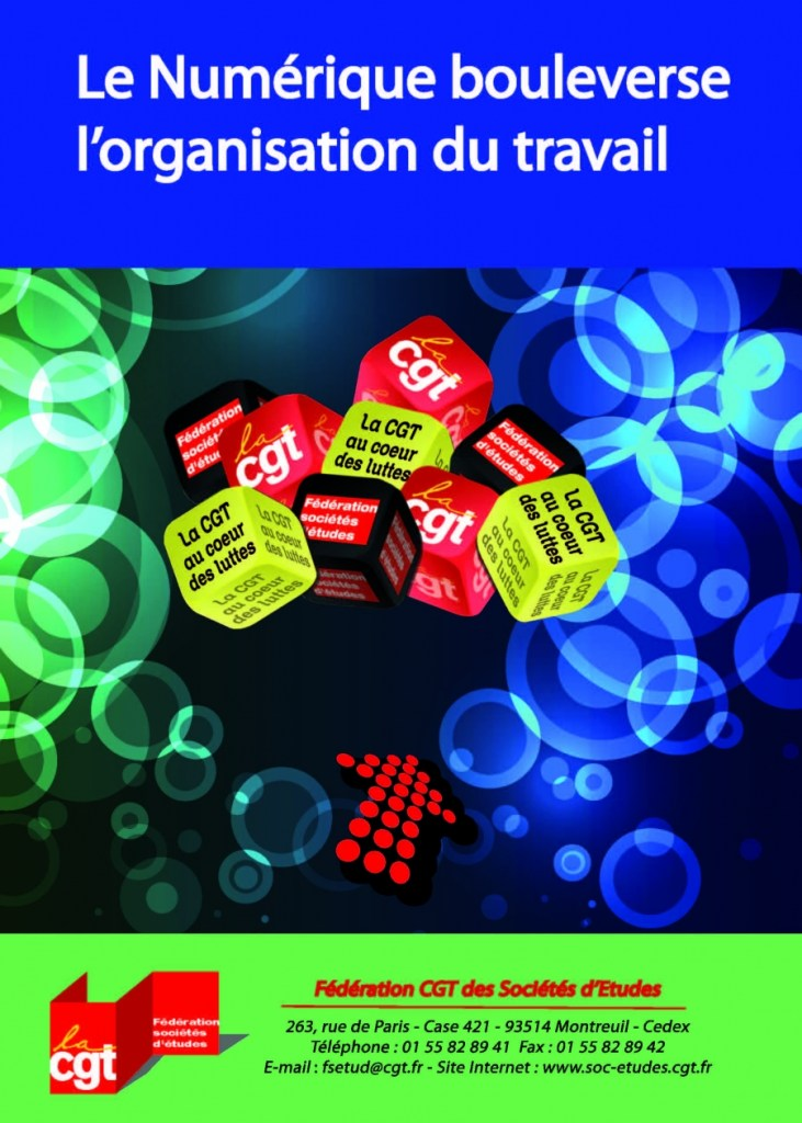 Brochure Fédérale NUM3 – Le Numérique bouleverse l'organisation du travail