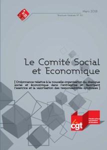 Brochure Fédérale n°30 : Le Comité Social et Economique