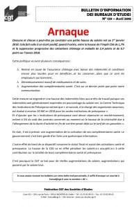 Bulletin d'information des bureaux d'études n°129