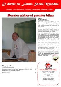 En direct du FSM n°5 : Dernier atelier et premier bilan