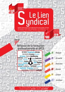 Le lien syndical n°488 – Septembre 2018