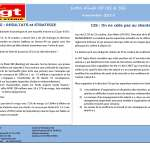 SOPRA-STERIA : Lettre d'info CE I2S & SSG – Novembre 2018