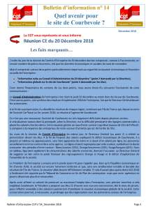 POLYMONT IT SERVICES : Bulletin d'information n°14