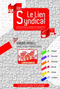 Le lien syndical n°498 – Eté 2019